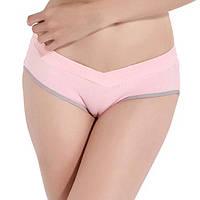 Трусики для беременных МирАкс ТБ-5530 Розовый (С серым)