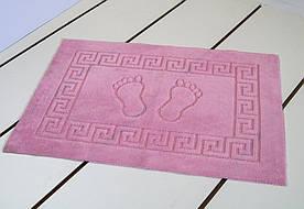 Коврик для ванной Lotus - 45*65 розовый прорезиненный
