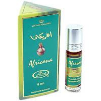 Арабские масляные духи Africana Al-Rehab 6 мл Скидка!