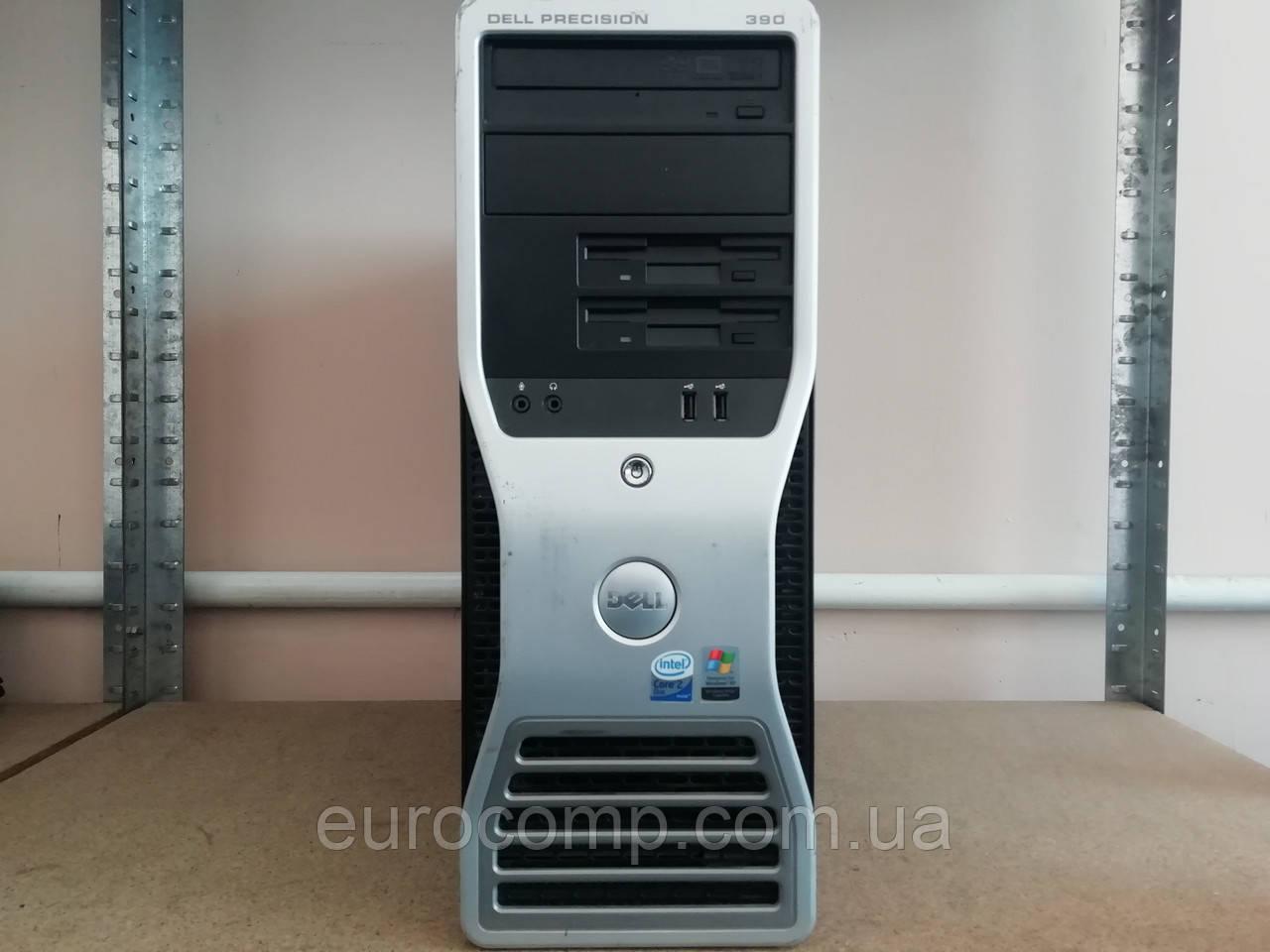Недорогой компьютер для дома Dell Precision T390 MT (C2D E6300/2GB/160GB,HD3470,256MB)
