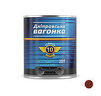 Краска Вагонка ПФ-133 красно-коричневый (0,9л.)