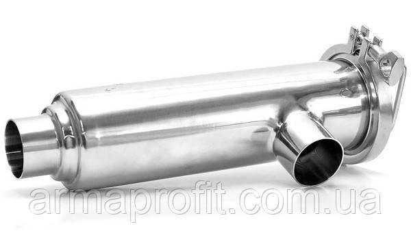 Фільтр трубний приварний DIN 11851 AISI 304 DN65