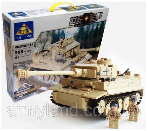 Тигр I KAZI, военный конструктор (82011), фото 2