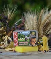 Органическое твердое мыло Карпатский горный мед, ТМ ЯКА