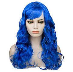 Парик Волнистый (синий) 60см