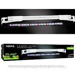 Aquael LEDDY SLIM PLANT 10Вт светодиодный LED светильник для аквариумов 50-70см