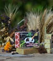 Органическое твердое мыло Гуцульский травяной сбор, ТМ ЯКА
