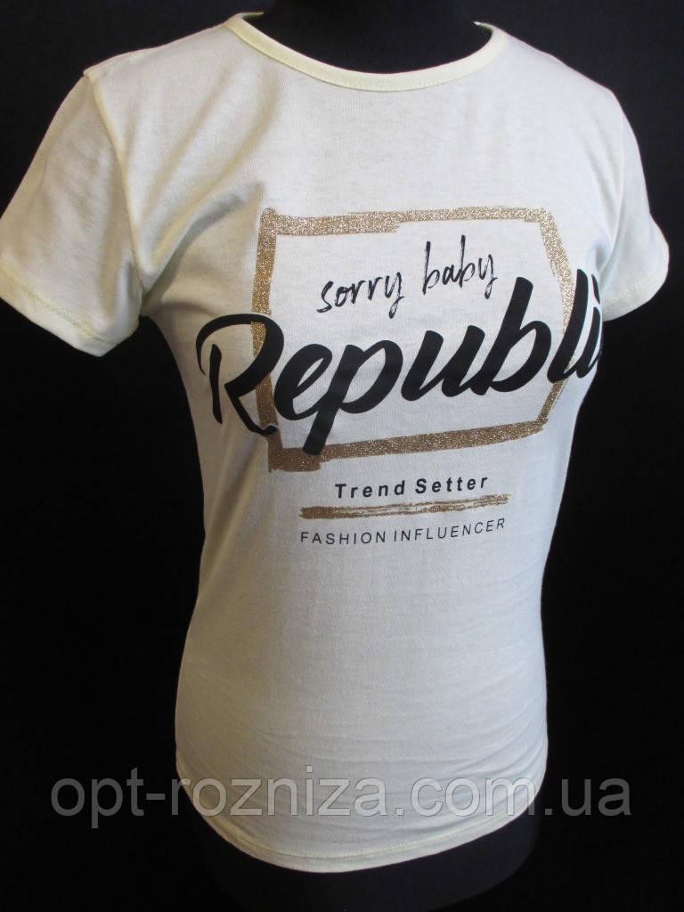 Летняя футболка турецкого производителя.