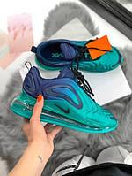 Женские кроссовки Nike Air Max 720 Blue \ Найк Аир Макс 720 Голубые \ Жіночі кросівки Найк Аір Макс 720 Голубі
