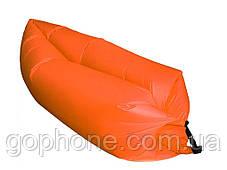 Надувной портативный диван-шезлонг LAMZAK 2.2М (Оранжевый), фото 2