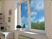 Все размеры Окно поворотно откидное металлопластиковое 7 камерное Премиум класс