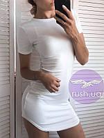Женское летнее платье футболка, фото 1
