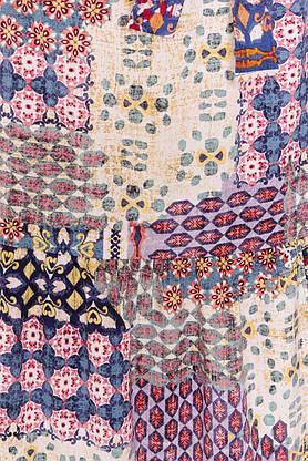 Летнее платье длинное с принтом, фото 3