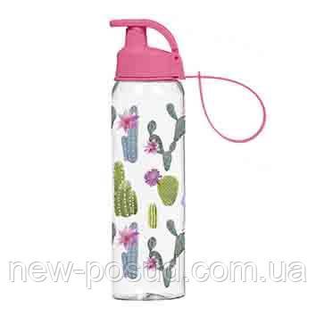 Бутылка для воды Herevin Cactus 750 мл розовая 161405-310