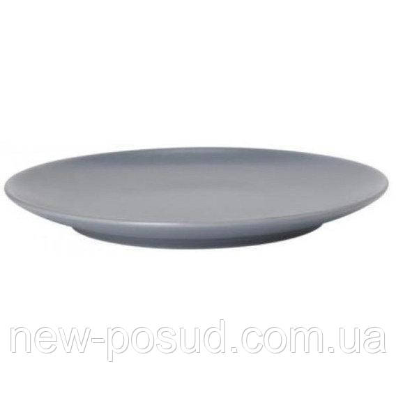 Тарелка десертная Ipec Dublin 20см Серый (30901709)