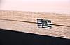 """Стол обеденный раскладной Итака DT-62 черный/МДФ дуб Сонома ТМ """"AMF"""", фото 6"""