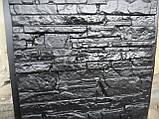 Форма для полифасадных панелей АЛЯСКА 500*500*30 мм; формы из АБС пластика для полифасада, фото 2