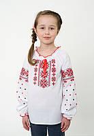 Дитяча вишиванка для дівчинки довгий рукав, арт. 4332