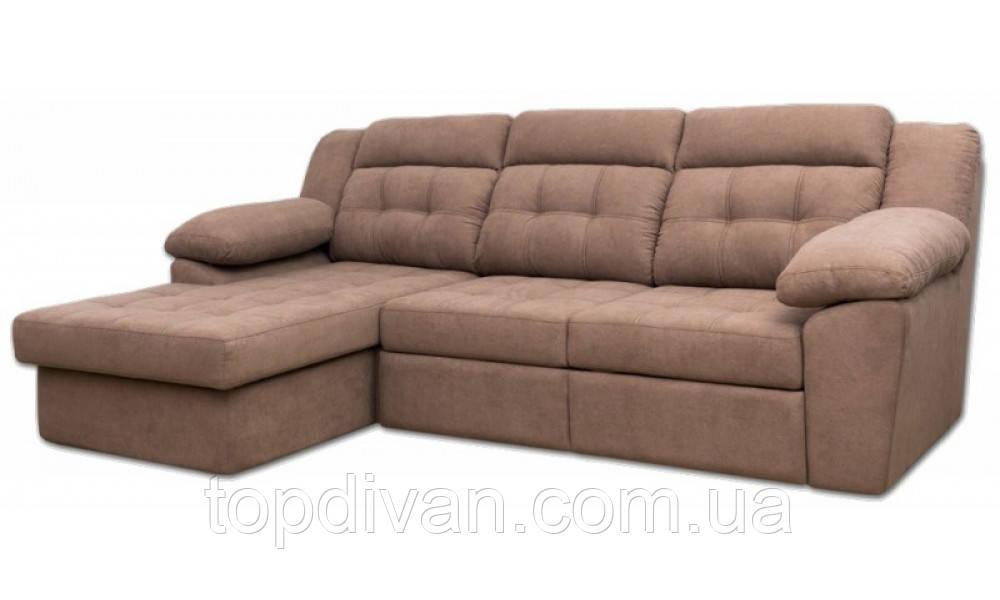 """Кутовий диван """"Севілья"""" ( Аляска 02 ) Габарити: 2,95 х 1,70 Спальне місце: 1,90 х 1,55"""