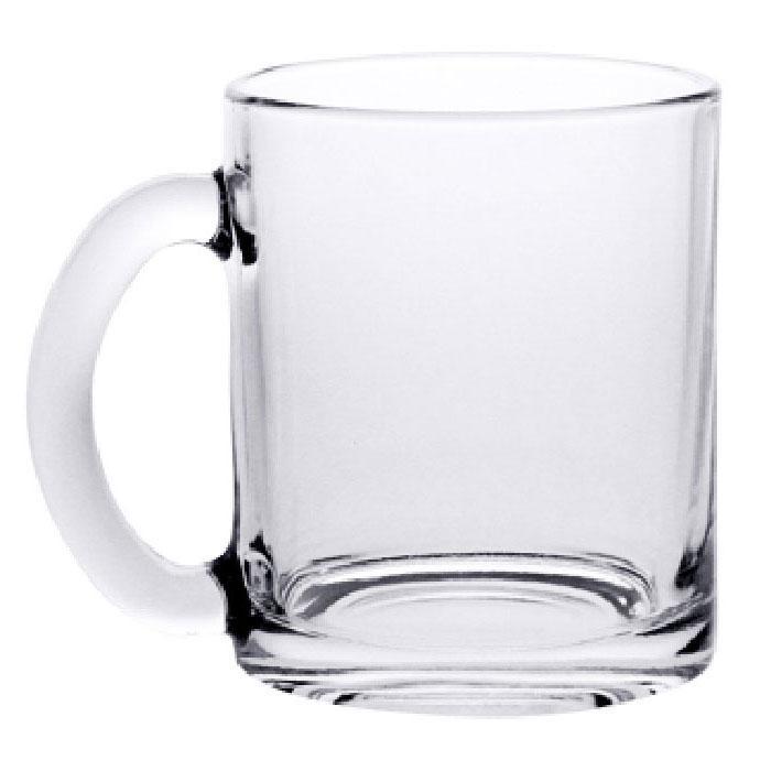 04с1208 Кружка чайная 300 мл прозрачная