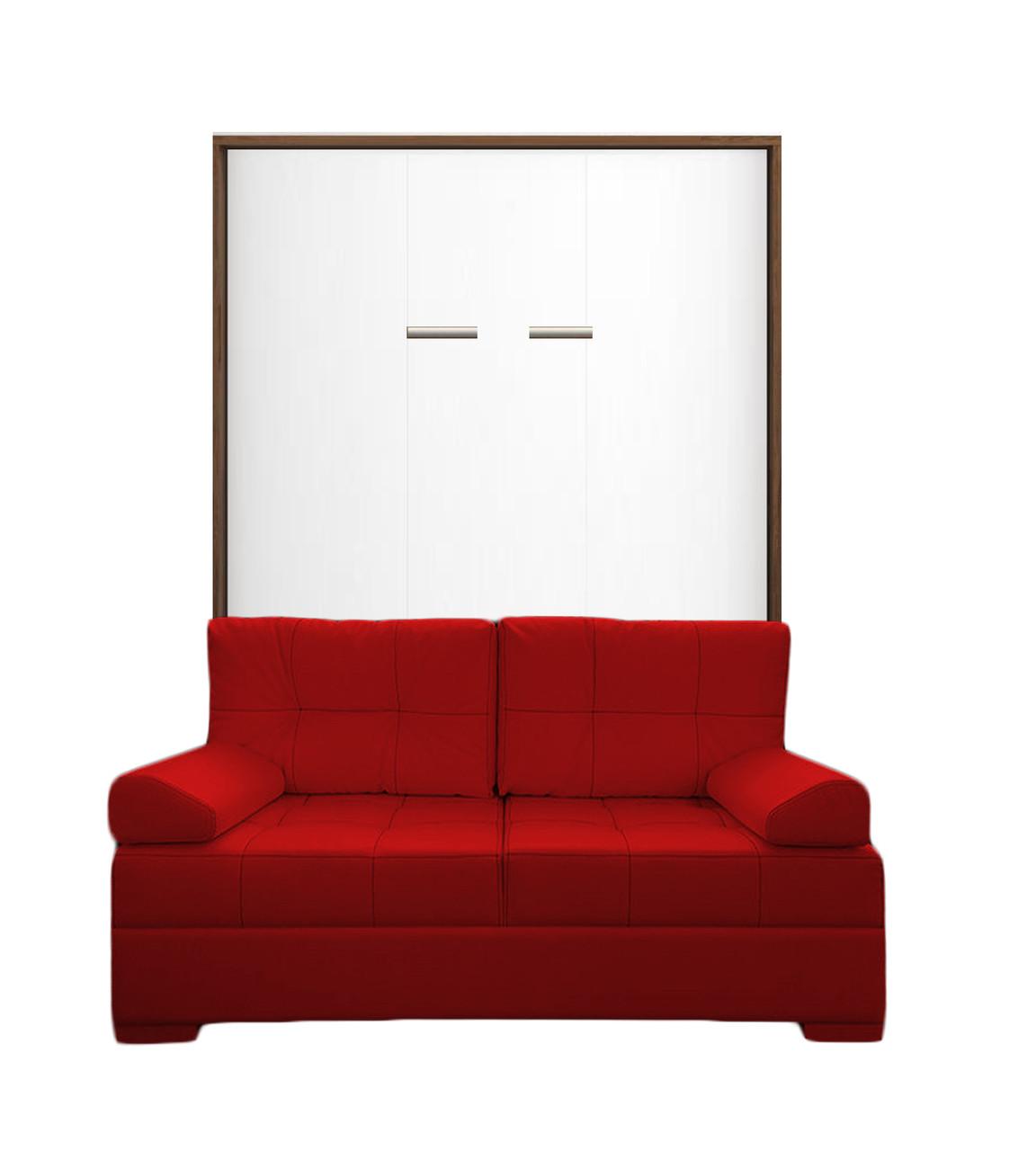 Шкаф-кровать с диваном 140*200 см