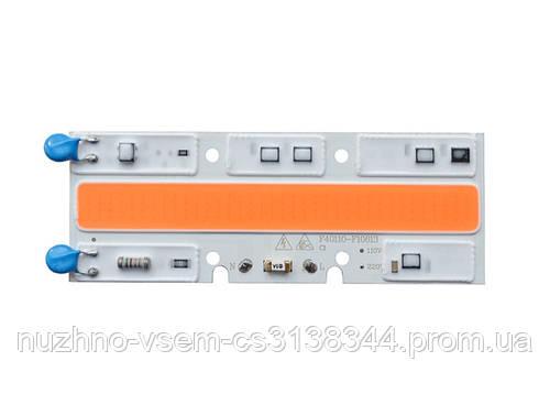 Светодиодный фито модуль 70W AC220 для растений