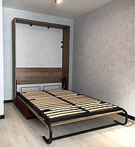 Шкаф-кровать с диваном 140*200 см, фото 3