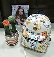 Рюкзак городской GS133 с мишками маленький