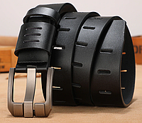 Кожаный мужской ремень Primo Coolerfire HQ038 - Black