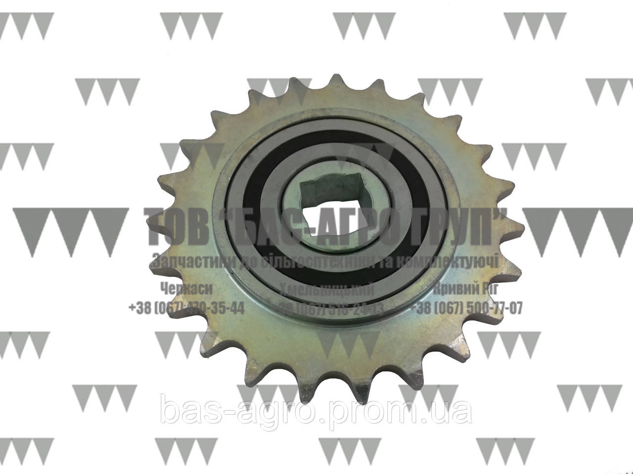 Звездочка Z-23 с обгонной муфтой Gaspardo G17131500/G16630370/G16631120 аналог