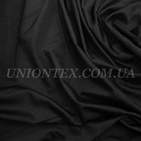 Трикотаж бифлекс (купальник) блестящий черный