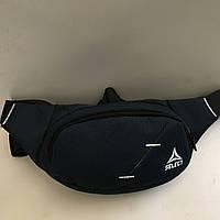 Поясная сумка синяя Select 2 отделения (Бананка, Сумка на пояс, сумка на плечо), фото 1