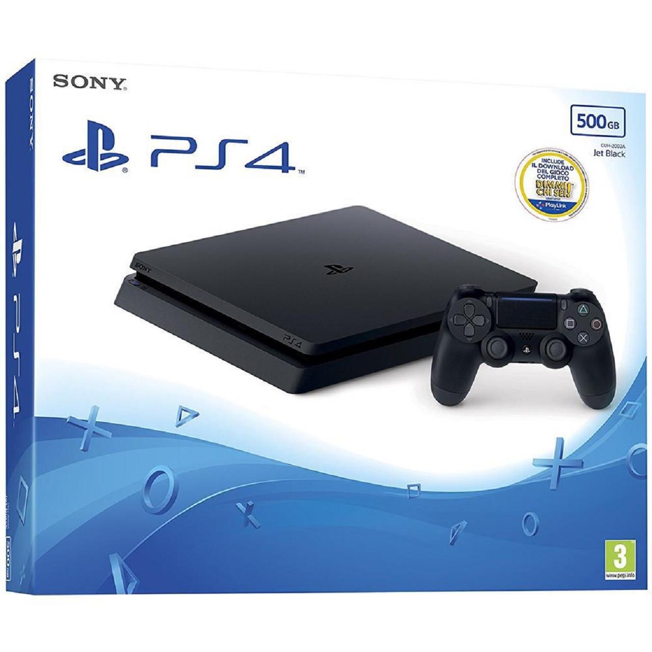 Sony PS4 Slim 500 GB + Dualshock 4 V2