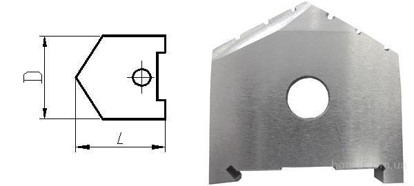Пластина к перовому сверлу (перо) D 27 мм (2000-1205) Р6М5 ГОСТ 25526-82