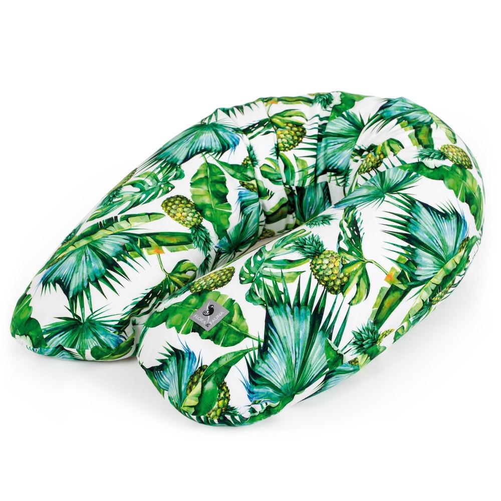 Многофункциональная подушка для беременных Cebababy Physio Multi Flora & Fauna Pina