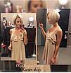 Летнее платье с двойным воланом от груди, фото 2