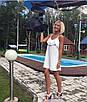 Летнее платье с двойным воланом от груди, фото 7
