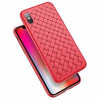 Защитный чехол от Floveme для смартфона iPhone X «Woven» (красный)