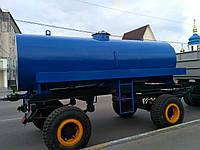 Прицеп для перевозки воды, молока и технических жидкостей объемом 6000 литров.