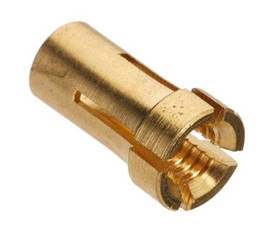 Ниппель для спирали D 4,0мм, цанга, (для тефлонового каналу червоного), A-Weld