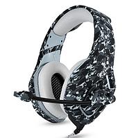 Ігрові навушники ONIKUMA K1-B з мікрофоном, чорний камуфляж