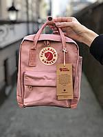 Рюкзак Fjallraven Kanken Bag Mini 8літрів / ПРЕМІУМ ЯКОСТІ / рожевий