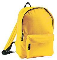 Рюкзак для прогулок. Рюкзак для спорта. Городской рюкзак. Жёлтый рюкзак. Рюкзаки.