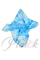 Шейный платок голубой