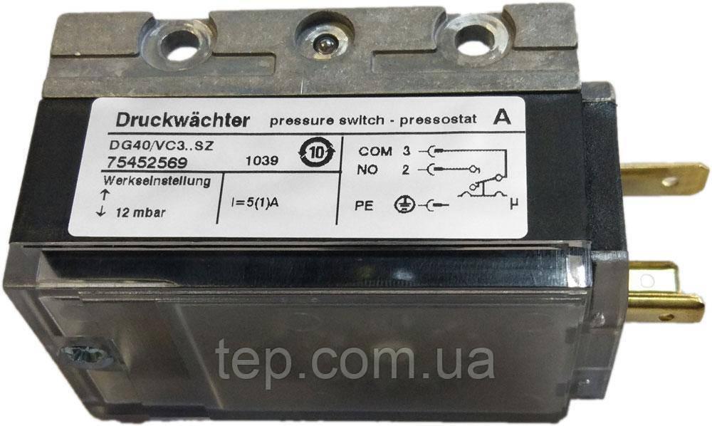 Датчик-реле давления Kromschroder DG35С3..SZ