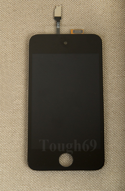 Дисплей LCD iPod Touch 4 + Touch Screen чёрный