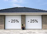 Акція! Знижка 25% на новинку від Алютех - ворота Trend