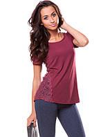 Красивая женская футболка на лето (M-XL)