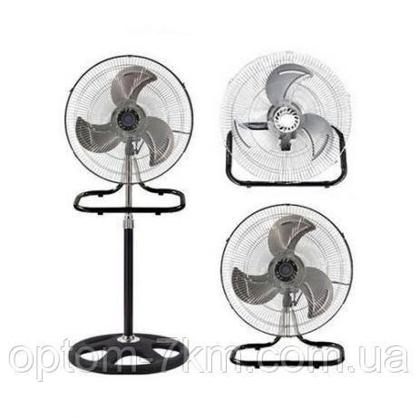 Напольный-настольный вентилятор 2 в 1 FS-4521 металлические лопасти  am