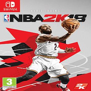 NBA 2k18 (англійська версія) Nintendo Switch